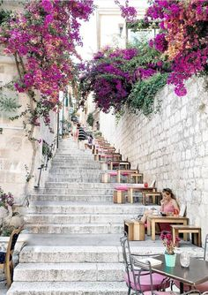 Stairway to heaven Hvar Island Croatia Photo by Tag. Stairway To Heaven, Cool Places To Visit, Places To Travel, Places To Go, Europe Places, Tourist Places, Europe Destinations, Holiday Destinations, Visit Croatia