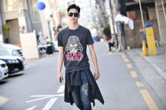 Kwon Hyun Bin for Hang Ten x Star Wars shot by Streetper