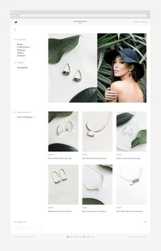 Commissioned by jewellery brand Morning Ritual to design and develop a bespoke, responsive e-commerce store built on the Shopify platform. branding, Morning Ritual – E-Commerce Jewellery Display, Jewelry Shop, Jewelry Stores, Beaded Jewelry, Handmade Jewelry, Jewelry Design, Fine Jewelry, Crystal Jewelry, Gold Jewellery