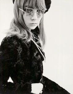 Chrissie Shrimpton by Peter Akehurst. 1966