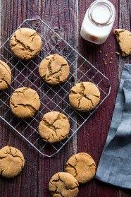 Molasses Crinkle Cookies   My Baking Addiction