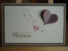 Zum Muttertag ... - Stempelklecks - Stempeln, Stanzen und Basteln mit Stampin' Up! -