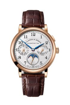 Showing at WatchTime New York 2017: A. Lange & Söhne 1815 Annual Calendar