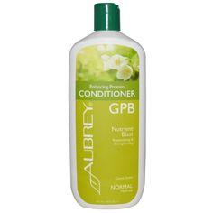 Aubrey Organics, GPB Balancing Protein Conditioner, Classic Scent, 16 fl oz (473 ml)
