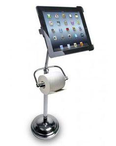 iPad Toilet Paper Holder | $42.50 Funnnny!