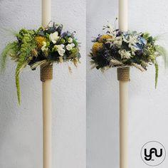 Lumanari cununie lungi hortensii frezii lavanda grau - LC19 Flower Tutorial, Wedding Photos, Wedding Ideas, Scented Candles, Wedding Cards, Wreaths, Decorations, Weddings, Art