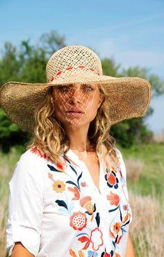 Caribbean: Gigi Burris for Basta Surf Tina Hat | $195