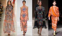 10 Tendencias de moda para la primavera/verano 2014 Etro, Maria Hoffman, Valentino, Givenchy s/s 2014