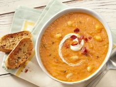 Learn how to make delicious Butternut Squash and Cannellini Bean Soup.