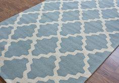 Hand Hooked Alexa Moroccan Trellis Rug x look so nice on my white carpet