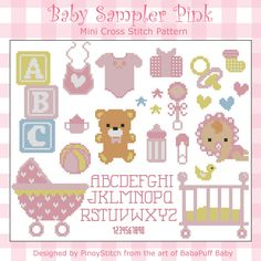 Baby Sampler Blue boy cross stitch chart designed by Pinoy Stitch Regular retail price - our discounted price stitched on aida stitch count x * * * * * * * * * * * * * * If you have a favorite Pinoy Stitch pattern. Baby Cross Stitch Patterns, Cross Stitch Borders, Baby Patterns, Cross Stitching, Cross Stitch Embroidery, Embroidery Patterns, Mini Cross Stitch, Modern Cross Stitch, Chart Design