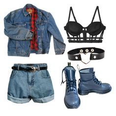 """""""+"""" by mishimaqueen ❤ liked on Polyvore featuring Wrangler, Retrò and CHROMAT"""