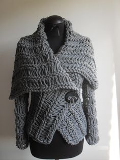 https://www.etsy.com/listing/114200966/wrap-sweatergray-sweater-brown-sweater?ref=related-1