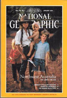 National Geographic Magazine - January 1991 - Vol. 179, No. 1