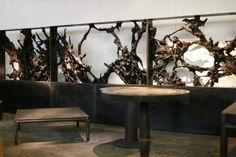 jérôme abel seguin / triptych and cast iron tables