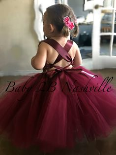 43a88302d8e 18 Best Flower Girl Dresses burgundy images