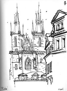 Urban Sketchers: Prague