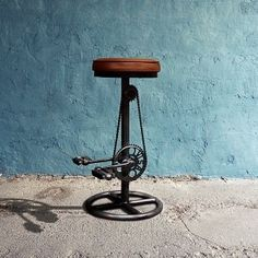 #Industrial #bar #stool by OBUZi