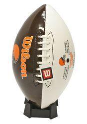 Cleveland Browns Wilson Team Logo Football