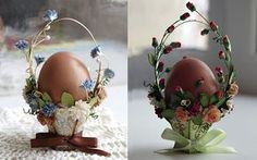 Egg Crafts, Easter Crafts, Diy And Crafts, Paper Quilling Designs, Diy Ostern, Chocolate Bunny, Egg Decorating, Vintage Easter, Happy Easter