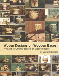 Woven Designs On Wooden Bases - book by Julie Kleinrath