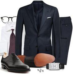 Fredagsinspiration - Klädkod Mörk Kostym
