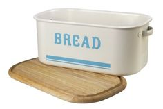 Jamie Oliver Vintage Inspired Tin Bread Box/Bin
