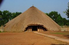 Traditional Royal Mausoleum,