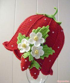 Весенние шапочки (Очень много фото). Дополнила схемами.