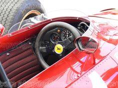 1967 Ferrari 312 Formula 1 cockpit