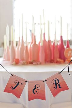 ombre bottles