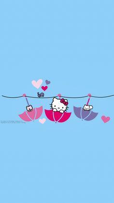 Hello Kitty Art, Hello Kitty Pictures, Sanrio Hello Kitty, Hello Kitty Wallpaper, Minions, Diy And Crafts, Kawaii, Sanrio Characters, Iphone Backgrounds