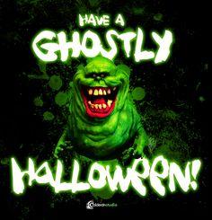 """""""Have a Ghostly Halloween"""" Ilustración promocional Halloween 2015"""
