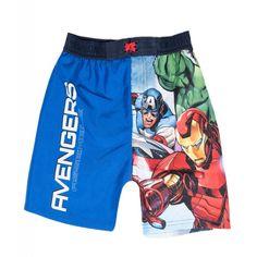 Marvel The Avengers Comic Boys Swim Swimming Trunks Shorts wear Years - Blue Marvel Avengers, Avengers Outfits, Shops, Boys Swimwear, Kids Tv Shows, Kids Swimming, Swim Shorts, Swim Trunks, Kids Outfits