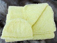 Baby Blanket Set by KingstonAlpacaKnits on Etsy