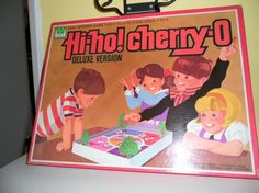 Hi Ho Cherry O board game had this! How it ever survived is a mystery to me since it was just paper.