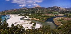 La #plage d'#Ostriconi en #Corse. #France