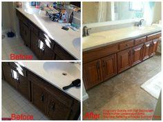 What a fantastic job the Granite Transformations Minnesota team did @ this Bloomington bathroom!