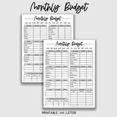 Weekly Budget Template for Two Incomes Weekly Expense Log | Etsy Family Budget Planner, Monthly Budget Sheet, Weekly Budget Template, Monthly Budget Printable, Budget Sheets, Monthly Expenses, Budget Book, Monthly Planner, Printable Planner