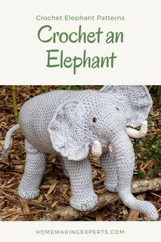 Elephant Patterns to Crochet - Crochet an Elephant Pattern
