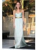 Kristin Cavallari Light Blue Prom Dress Marine Corps Ball Red Carpet - TheCelebrityDresses