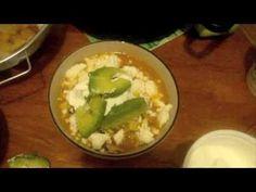 Sopa de tortilla con pollo comida mexicana--receta/video