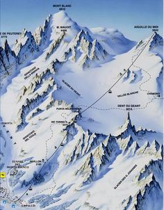 Mont Blanc or Monte Bianco ?