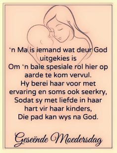 'n Ma is iemand wat... #Afrikaans #MamaMia #Moedersdag Mother Poems, Mom Poems, Mothers Day Poems, Happy Mother Day Quotes, Best Mom Quotes, Quotes For Him, Life Quotes, Clever Quotes, Funny Quotes