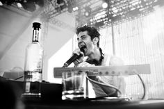 Perry Farrell on-stage at Lollapalooza Brasil.  Photo by: Danny Clinch.