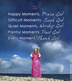 Praise HIM always