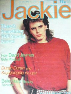 John Taylor, Duran Duran on the cover of Jackie magazine Boys On Film, Nigel John Taylor, My Childhood Memories, Teenage Years, Vintage Comics, Story Of My Life, Love Affair, The Good Old Days, Growing Up