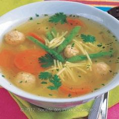 Chicken and Asparagus Soup is a 3 step easy Japanese soup recipe.