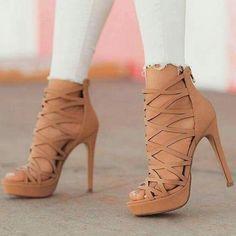 Camel Cut out Gladiator Heels Stiletto Heels Platform Sandal.- Camel Cut out Gladiator Heels Stiletto Heels Platform Sandals Camel Cut out Gladiator Heels Stiletto Heels Platform Sandals - High Heels Boots, Platform High Heels, Heeled Boots, Shoe Boots, Heeled Sandals, High Heel Sneakers, Black High Heels, Platform Sneakers, Stilettos