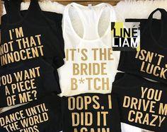 ENDS AT 12AM Criminal bridesmaidbridesmaid shirts bridesmaid